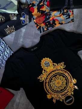 Camisetas Versace Algodon Moneda Envio Gratis Recibimos Todos Los Medios De Pago