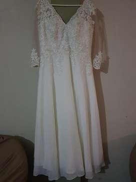 Vestido de Novia Talla Plus Xl