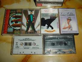 lote cassettes musica rock pop 90s