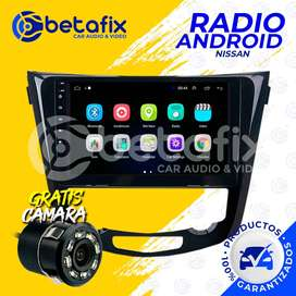 "RADIO ANDROID NISSAN XTRAIL 10"" GPS BT USB WIFI BETAFIX"