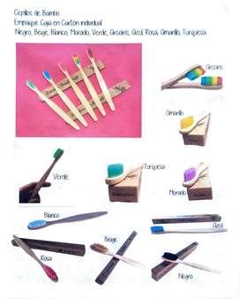 Cepillos de dientes en Bambú