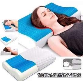 Almohada Cervical con Gel Refrescante
