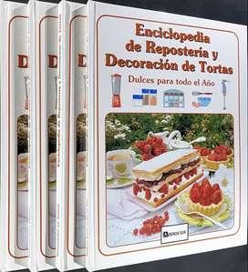 Enciclopedia de REPOSTERÍA y DECORACIÓN de Tortas