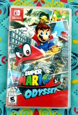 Super Mario Odyssey Nintendo Switch. Fisico. Usado
