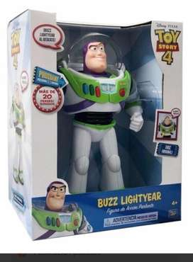 Toy Story 4 Buzz Lightyear Habla Figura  De Accion Original