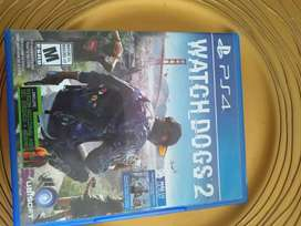 Juego watch dogs 2 casi nuevo play station 4