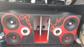 Vendo audio potente para carro