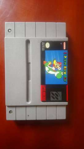 Super Nintendo juego super mario world