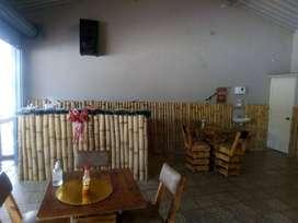 Excelente cafetería / paradero sobre la vía en La Cuncia, Villavicencio