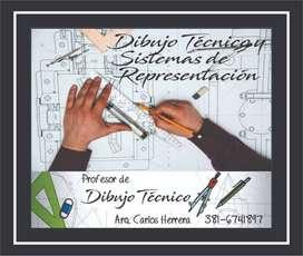 Clases de apoyo en Dibujo Técnico