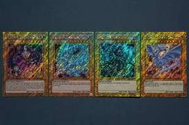 Todo x 16 dolares - Cartas Gold Secretas Yugioh