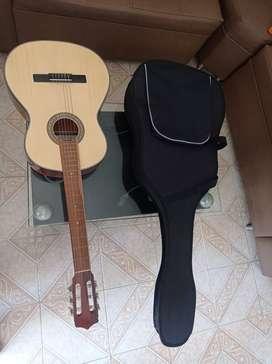 Guitarra electro acústica de cuerdas nylon