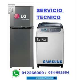 Empresa CESETEC reparacion Lavadoras Refrigeradoras LG Samsung y otros