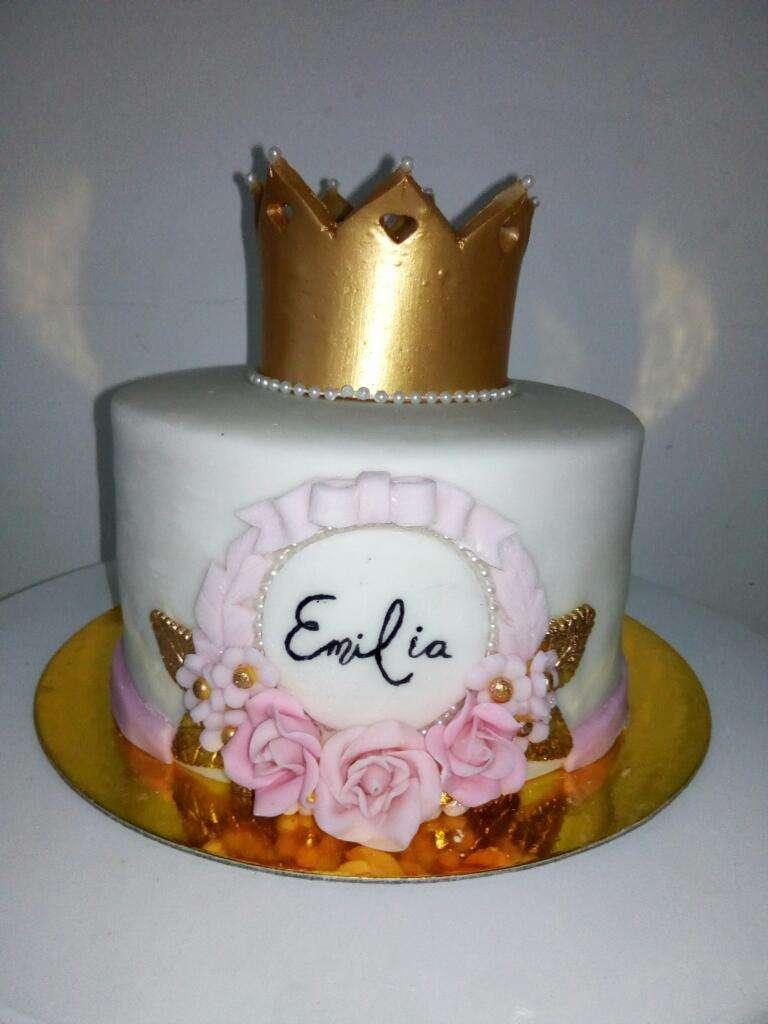 Torta para Bautizo Cumpleaños Boda 0