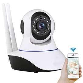 Cámara ip wifi seguridad robótica visión nocturna 360