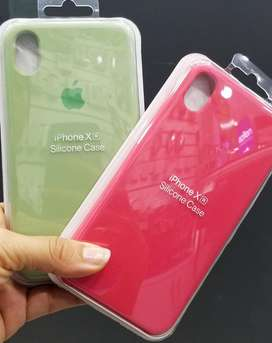 Silicone Case iPhone X Xs Xr