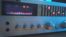 amplificador philips con 4 bafles philips