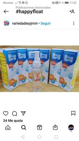 Hi float happy float mayor duración de helio en globos