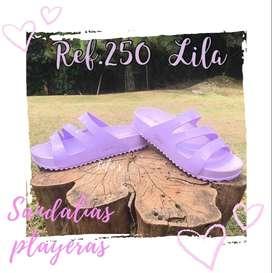 Chanclas o sandalias playeras para mujer, $42mil