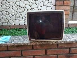 Tv 14 Pulgadas Tonomac Blanco y Negro Funcionando Reliquia Diseño Kogan