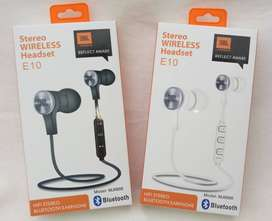 Auriculares Jbl Wireless Headset JBL E10 Model Bluethooth