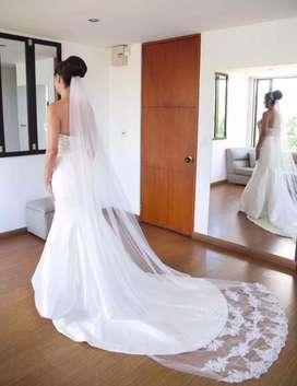 Lindo vestido de matrimonio