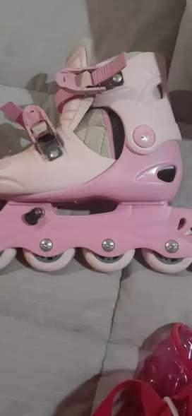 Rollers para nena en excelente estado