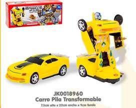 Carro Transformers Lamborghini ️ Convertible, carro pila Transformable