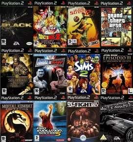Juegos x5 Para PlayStation 2 Al Por Mayor