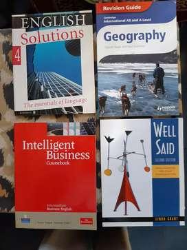 Moron Libros de Inglés,nuevos,con cd y dvd desde 100pesos