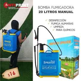 Sprayer - Fumigadora Para Quimicos De 20 Litros