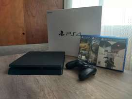 Vendo Playstation 4 con 1 joystick y 3 juegos