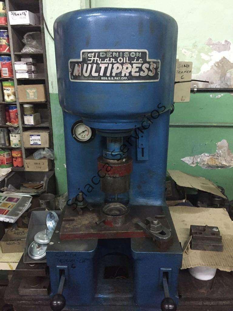 Prensa hidraulica multipress 40 tns 0