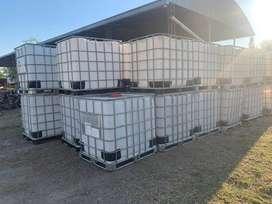 Tanques Bins Contenedores Plasticos -1000 Litros- Lbc