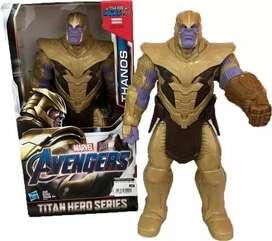 Muñeco Thanos Avengers 30 cm Original Hasbro