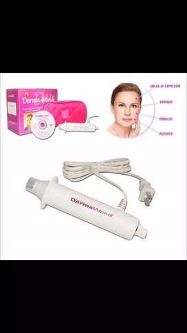 Derma Masajeador facial Electro estimulacion Wand Arrugas y Acne