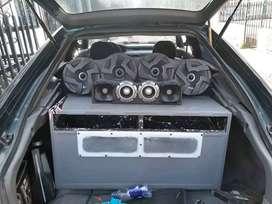 Instalado Sonido para carro super potente. Palomeras para carro. Cajas acusticas para vehiculo