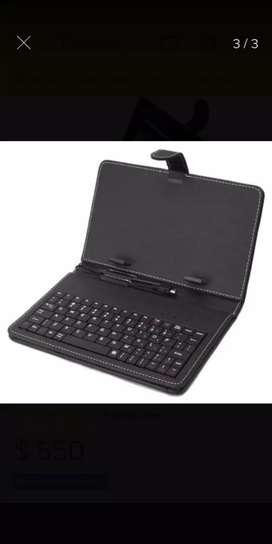 Funda con teclado