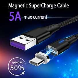 Cable Magnetico Super Carga 5ATipo C