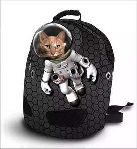 Morral porta gato