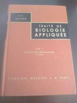 Diagnóstico micro-biologico, TRAITE BIOLOGIE APLIQUE TOME 2