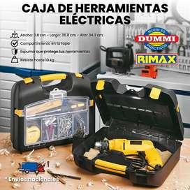 Caja de Herramientas Eléctricas Plástica – Rimax