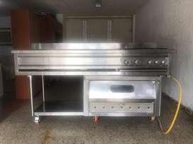 Estufa meson con horno