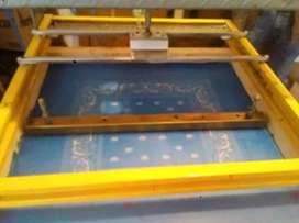 Máquina estampadora de screen