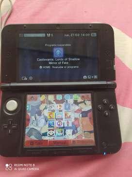 Vendo Nintendo 3DS XL programado.