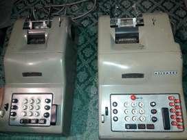 Antiguas Cajas Registradoras Olivetti