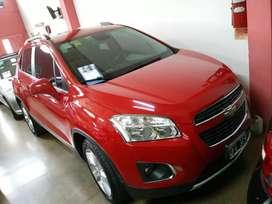 Chevrolet tracker ltz modelo 2014 full único dueño automatic espectacular permutaria financió calle 62entre3y4. La plata