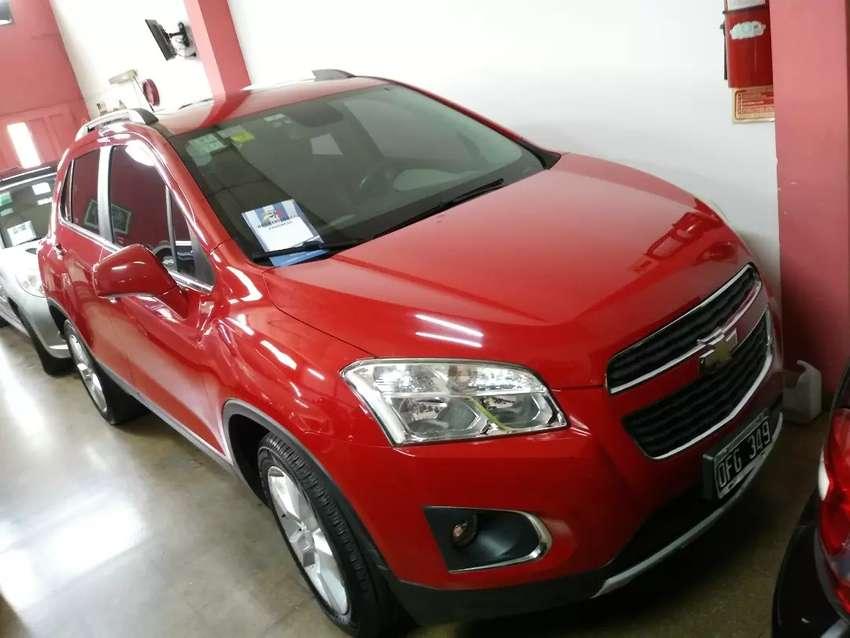Chevrolet tracker ltz modelo 2014 full único dueño automatic espectacular permutaria financió calle 62entre3y4. La plata 0