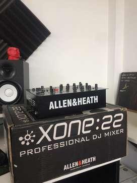 Mixer Allen Heath Xone22