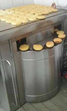 Hornos para arepa boyacense o para snacks de queso